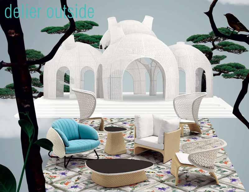 muebles de diseño exterior