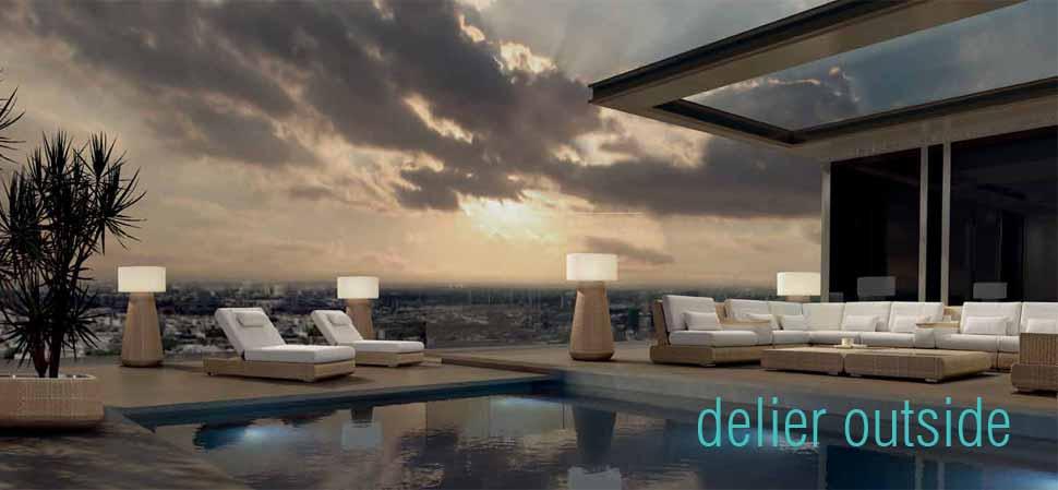 muebles para terrazas de hoteles