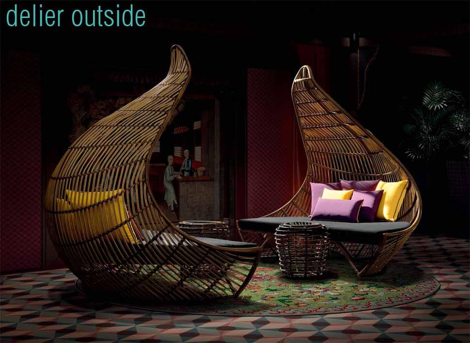 muebles para terrazas hoteles