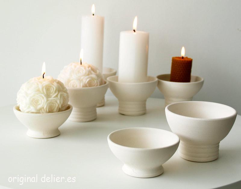 candelabros para velas