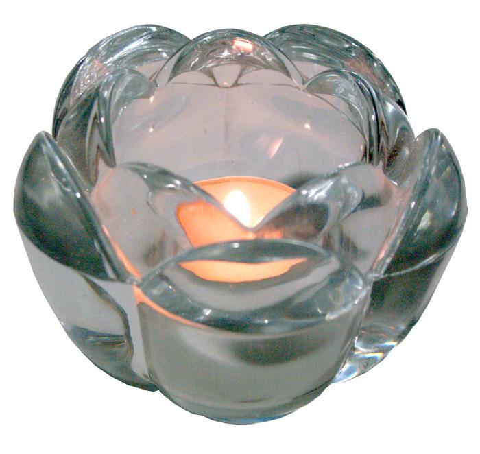 candelabros de cristal para velas