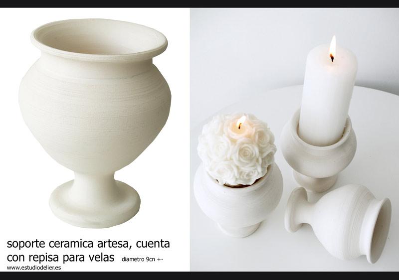 candelabros artesanos