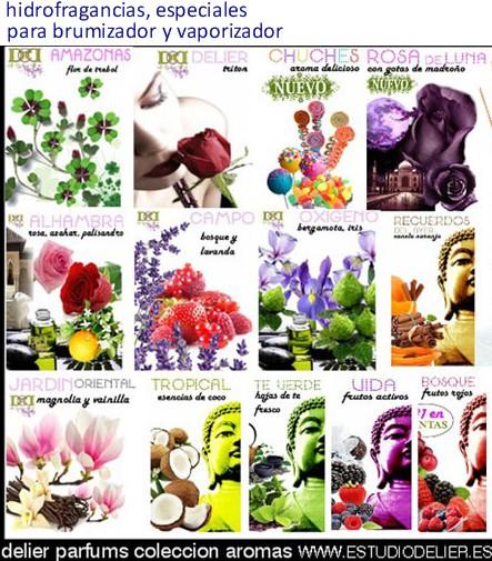 aromas para brumizadores