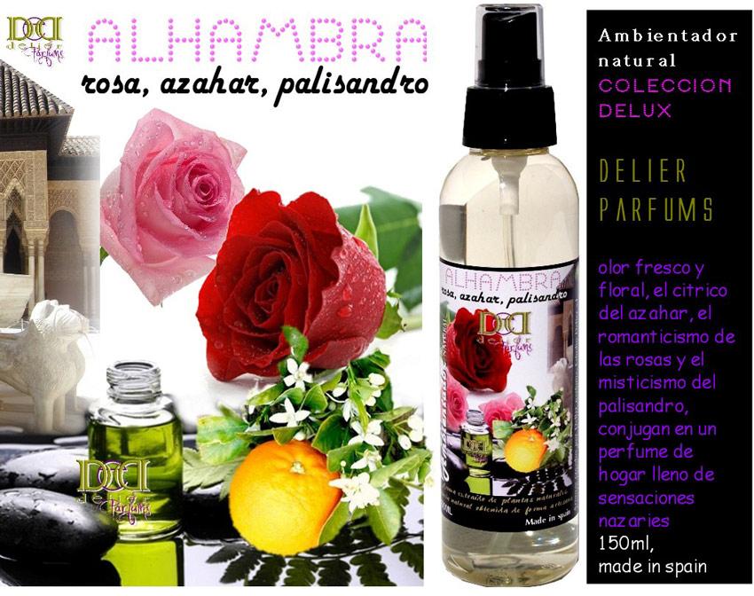 ambientadores para el hogar olor rosas