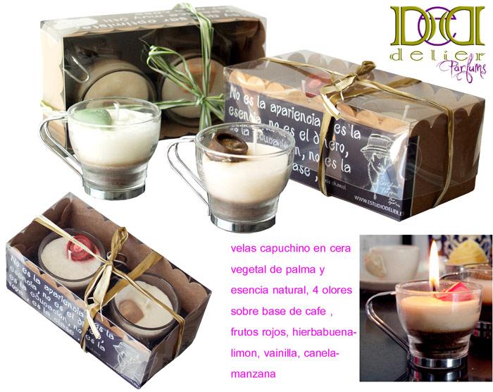 velas para regalos originales