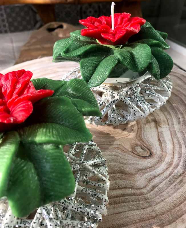 velas decorativas navidad