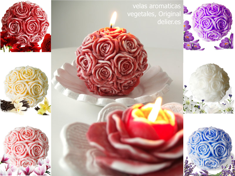 velas decorativas aromaticas