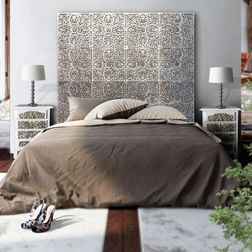 cabecero cama arabe
