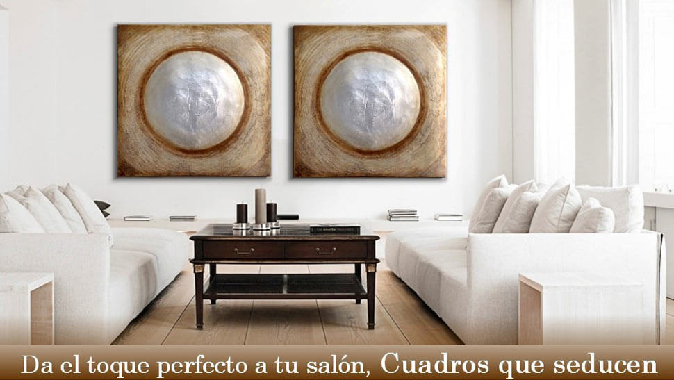 Ideas decorativas reciclando for Cuadros originales salon