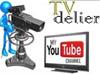 Videos delier, trabajando en el estudio. Nuestro canal tv
