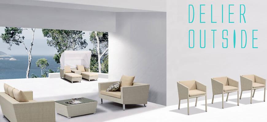 Como decorar una terraza o patio peque o for Muebles para jardin pequeno