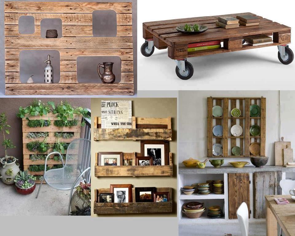 Crear muebles con palets reciclemos for Crear muebles online