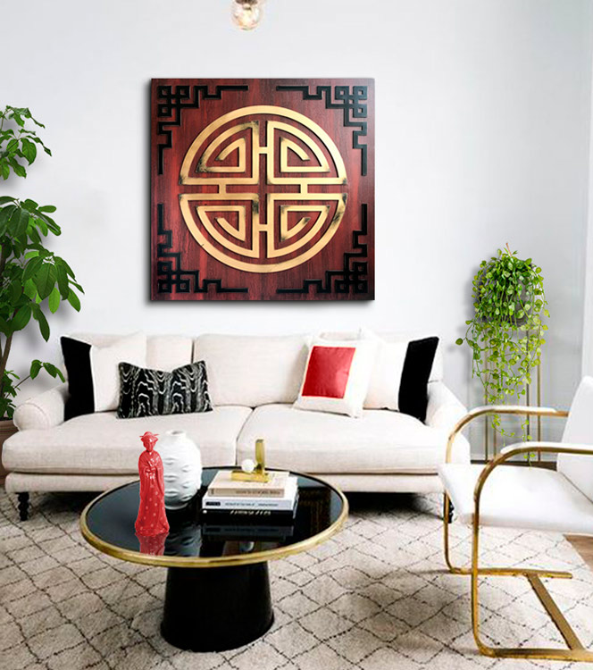 cuadros orientales para sofa
