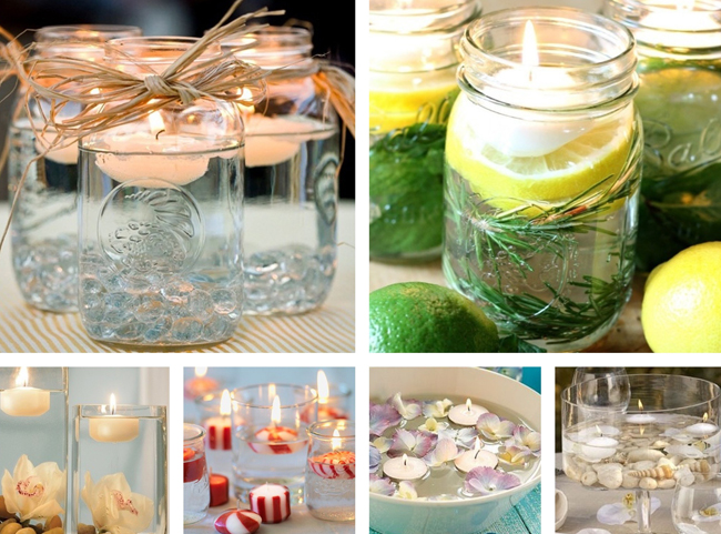 Velas el arte de iluminar y decorar for Velas para decorar mesas