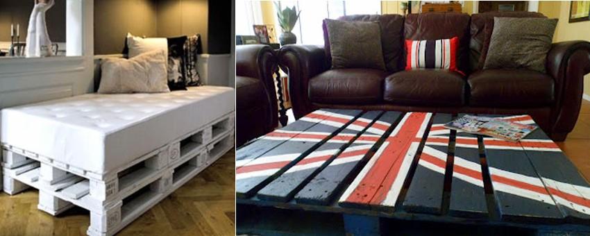 crear muebles con palets reciclemos - Muebles Con Palets