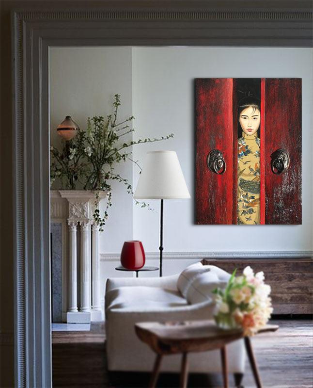 cuadros orientales para el salon