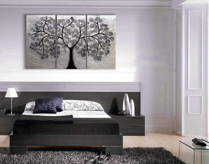 Cuadro para cabecero cama fabulous gallery of dormitorio matrimonial cabecero de cuadros a - Cuadros para cabeceros de cama ...