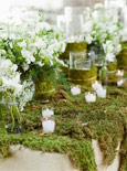 Decorar con velas vegetales