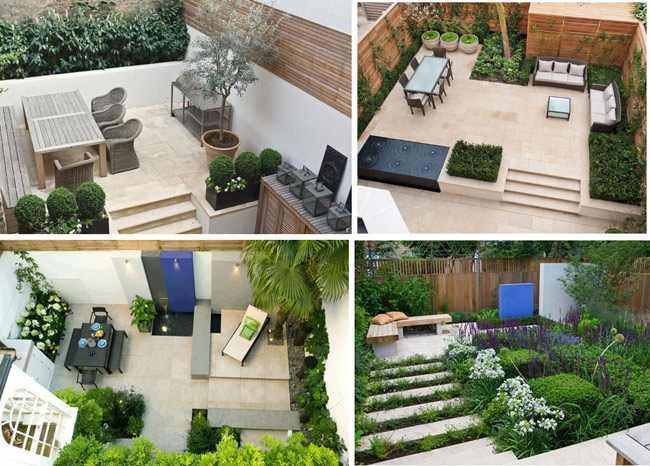 Ideas para decorar patios pequenos modern patio outdoor - Imagenes de jardines pequenos ...