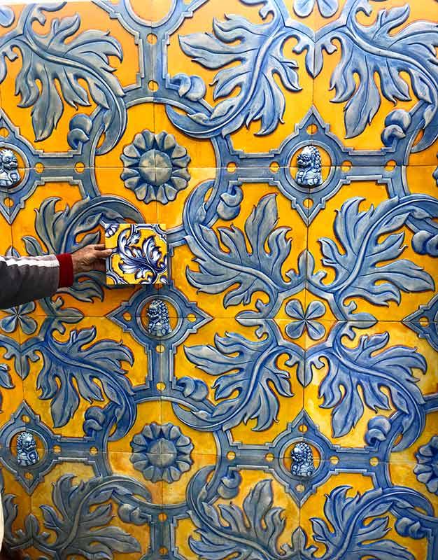 panel ceramica talavera para fachadas