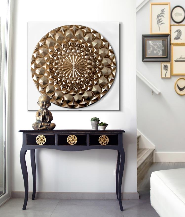 Cuadros modernos mandalas for Cuadros decorativos clasicos