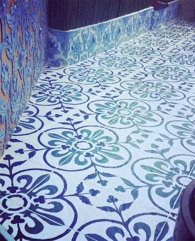 azulejos ceramica talavera exterior