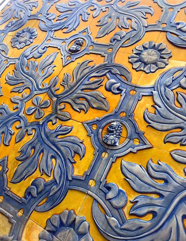 ceramica talavera para fachadas