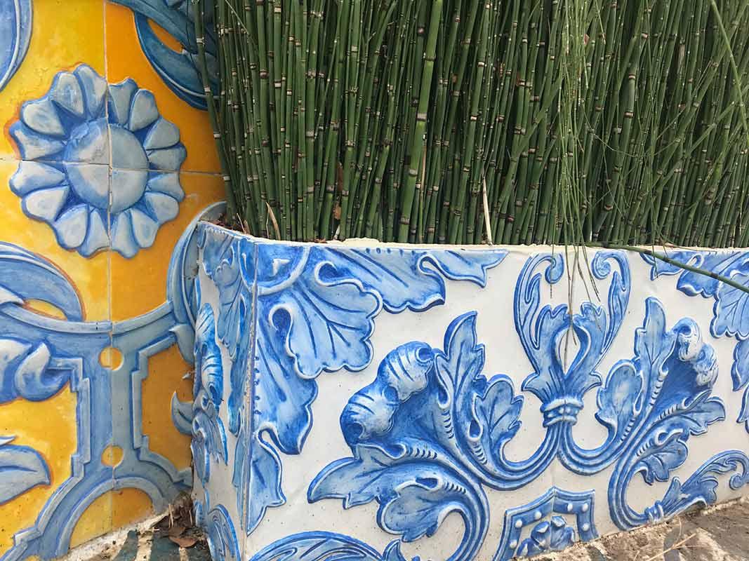 relieves texturas ceramica talavera