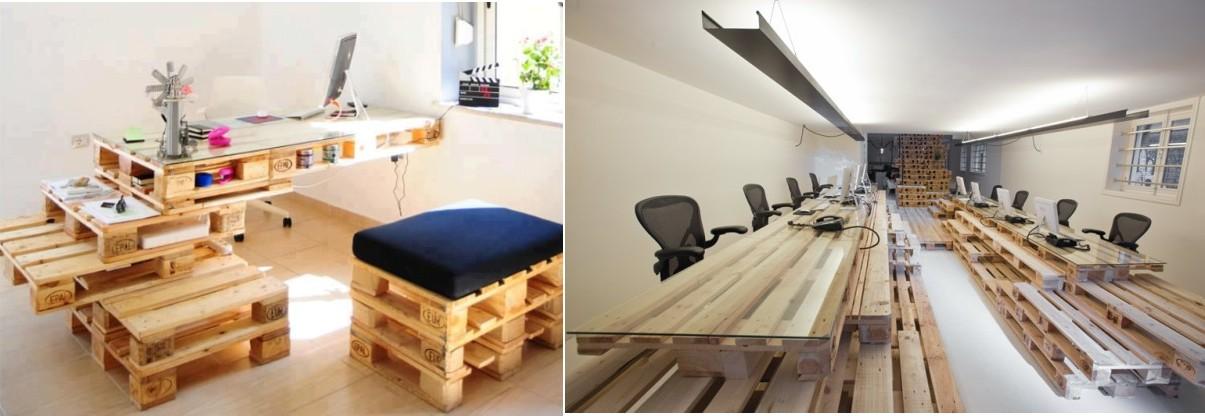 crear muebles con palets reciclemos
