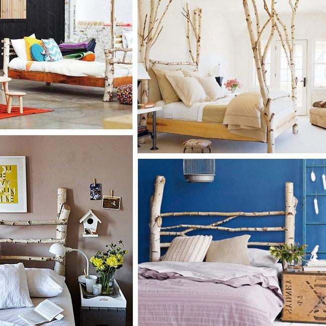 camas y cabeceros reciclados
