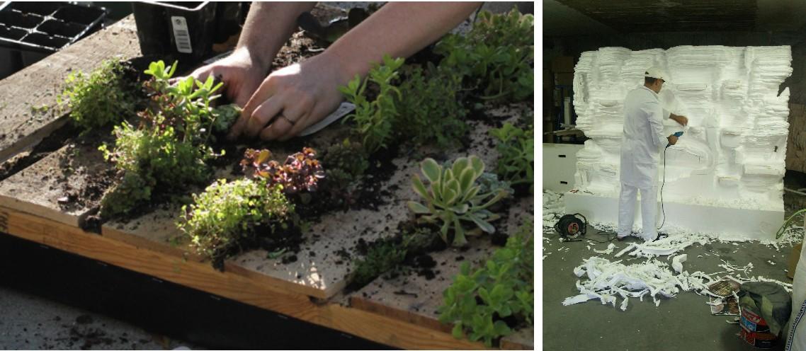 Jardines verticales texturas vegetales ecol gicas for Riego jardin vertical