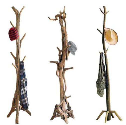 percheros de ramas