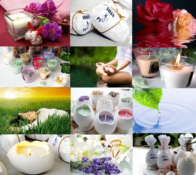 Velas de soja - Aromas para velas ...