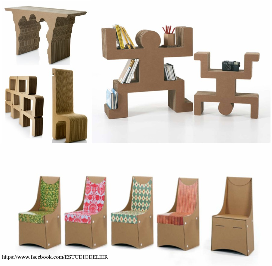 Reciclar ideas decorativas 1 - Carton para muebles ...