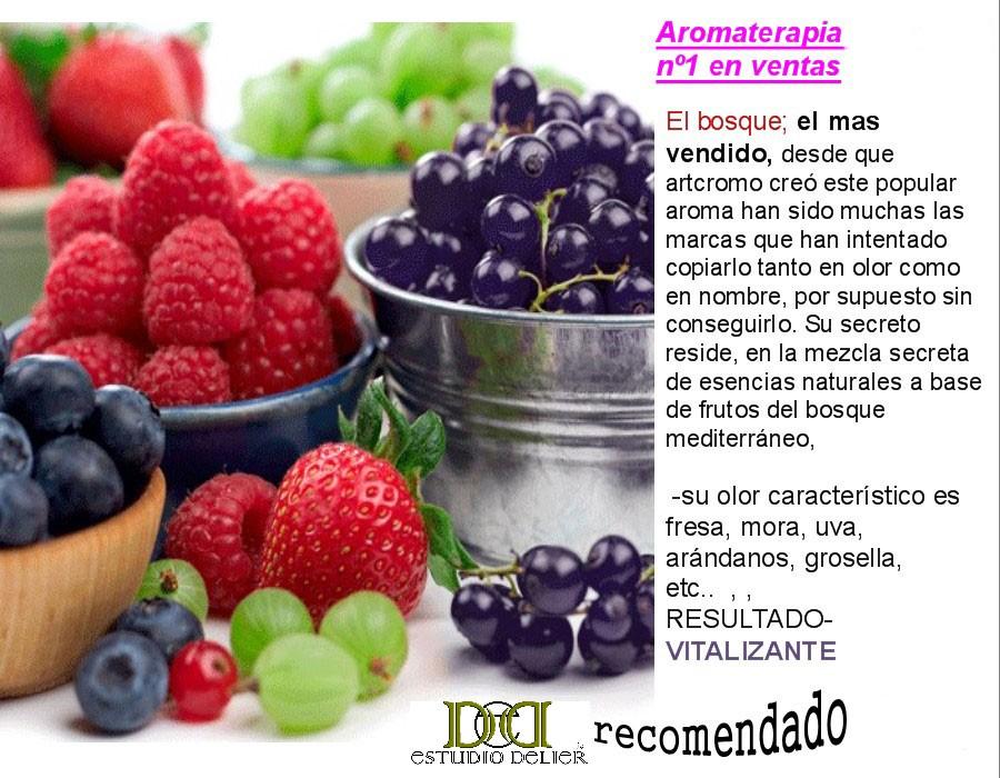 ambientadores frutos rojos