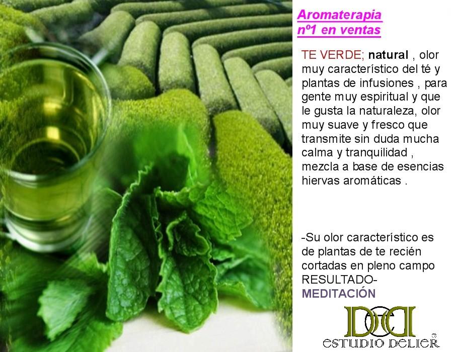 aromas a te verde