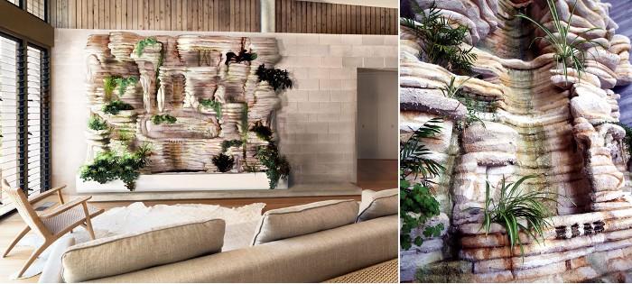 Jardines verticales texturas vegetales ecol gicas - Enredaderas de interior ...