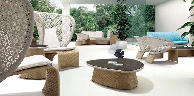 muebles de exterior de estilos tnicos orientales modernos coloniales ibicencos