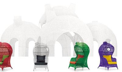 Sensaciones de hogar muebles de exterior elegancia natural y exclusiva - Muebles chill out exterior ...