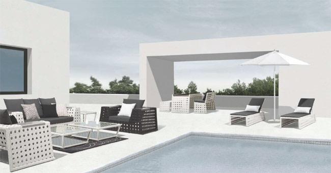 Muebles de exterior delier for Fabrica de muebles para exterior
