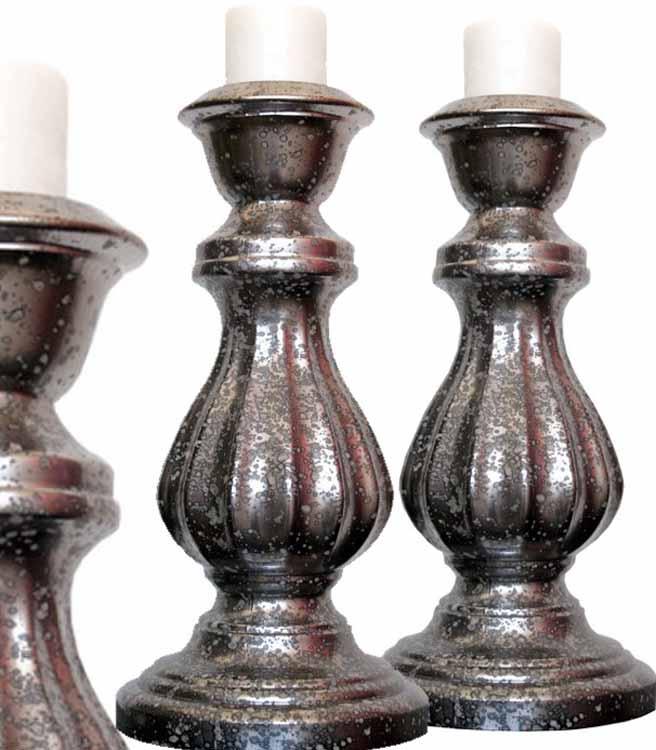 candelabros de cristal modernos