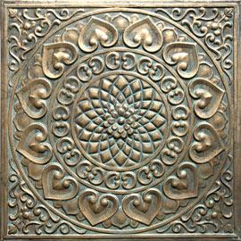 Estudio delier cuadro puerta mandala for Cuadros verticales baratos