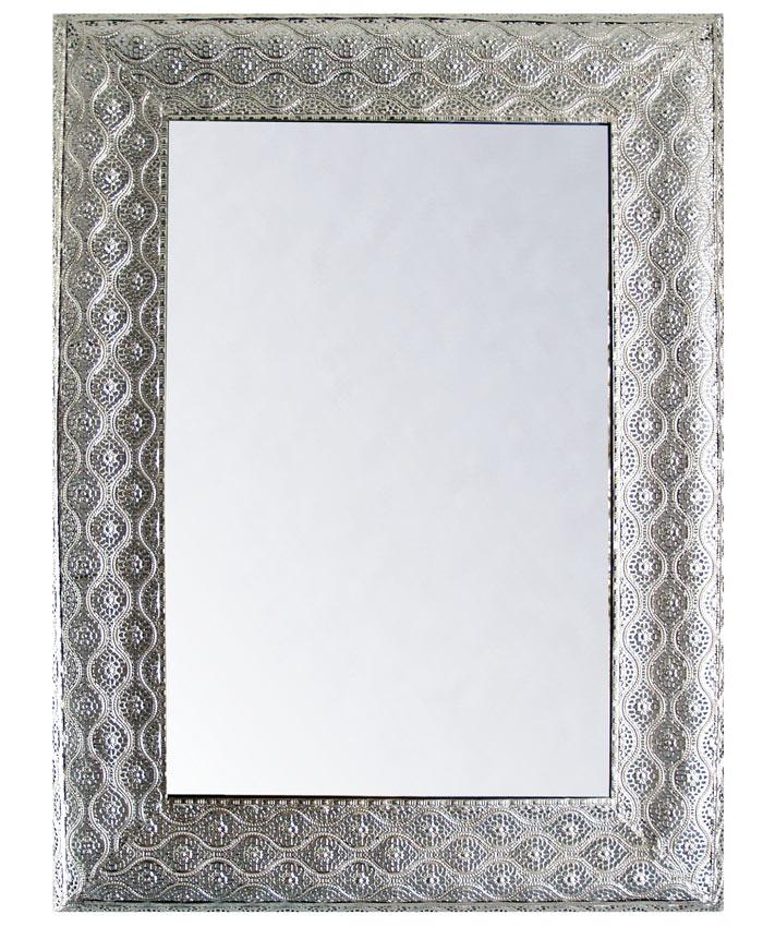 espejos en color plata