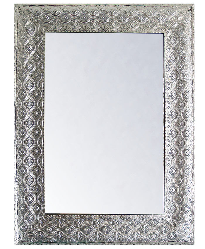 Estudio delier espejo plateado yadila - Espejos color plata ...