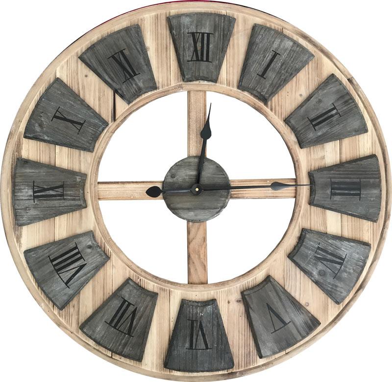 Estudio delier reloj de pared madera for Relojes de pared antiguos precios