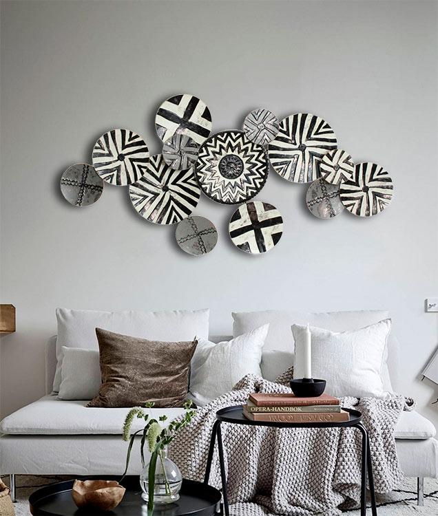 cuadros modernos etnicos sofas