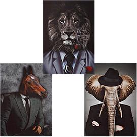 cuadros modernos animales