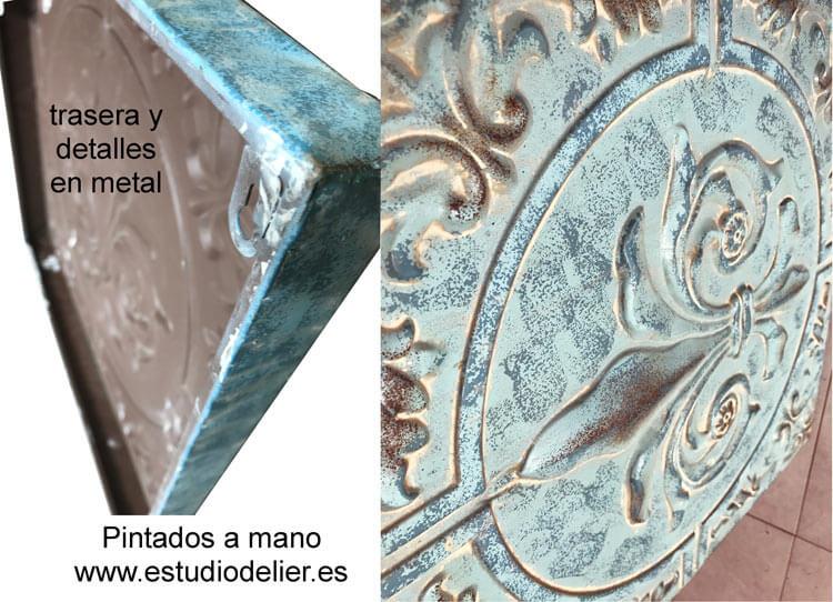 cuadros en metal