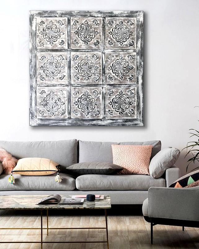 cuadros coloniales rusticos sofas