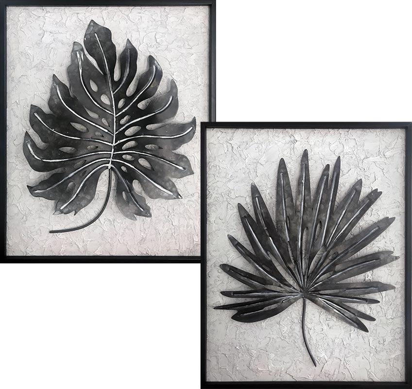 cuadros de hojas